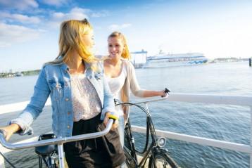 Kiel per Rad