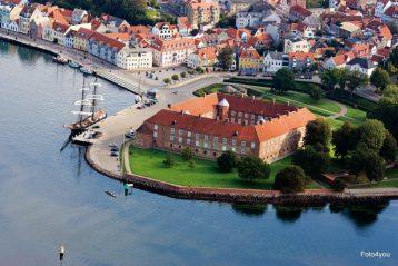 Schifffahrt nach Sønderburg (Dänemark)
