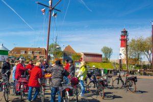 Führungen und Radtouren im Nordsee-Heilbad