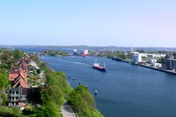 Der Nord-Ostsee-Kanal und seine Schleusen